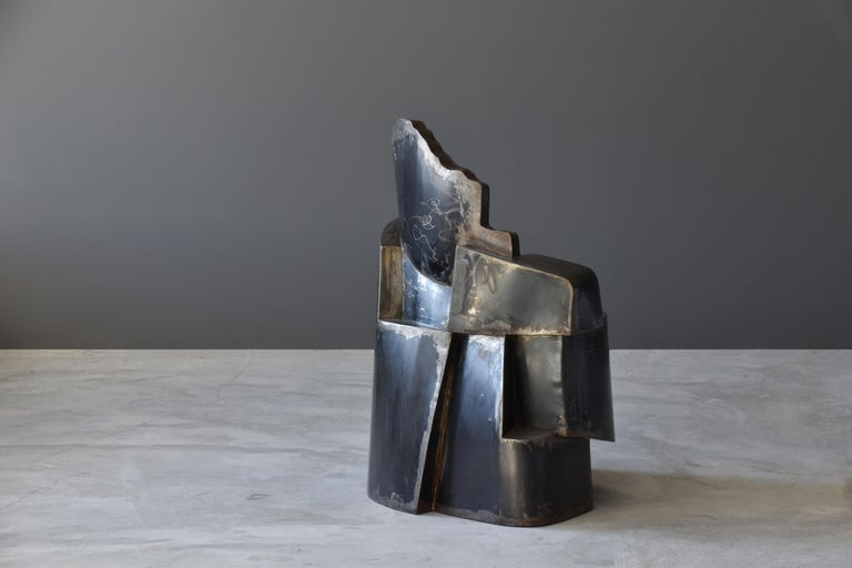 Contemporary Jim Cole, Sculpture Chair Titled