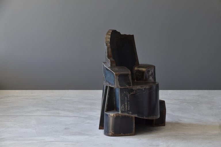 Jim Cole, Sculpture Chair Titled