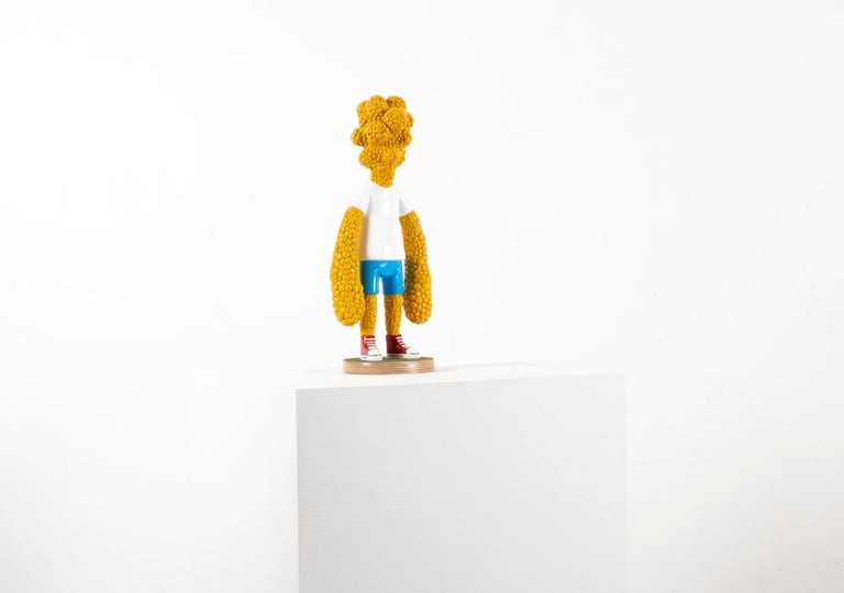 «Are we growing apart?» Figurative Sculpture by Norwegian artist Jim Darbu For Sale 1