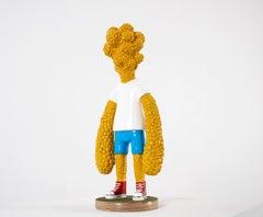 «Are we growing apart?» Figurative Sculpture by Norwegian artist Jim Darbu