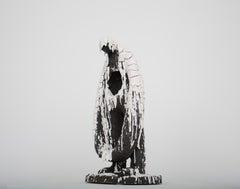 «Completely Cracked» Figurative Sculpture by Norwegian artist Jim Darbu