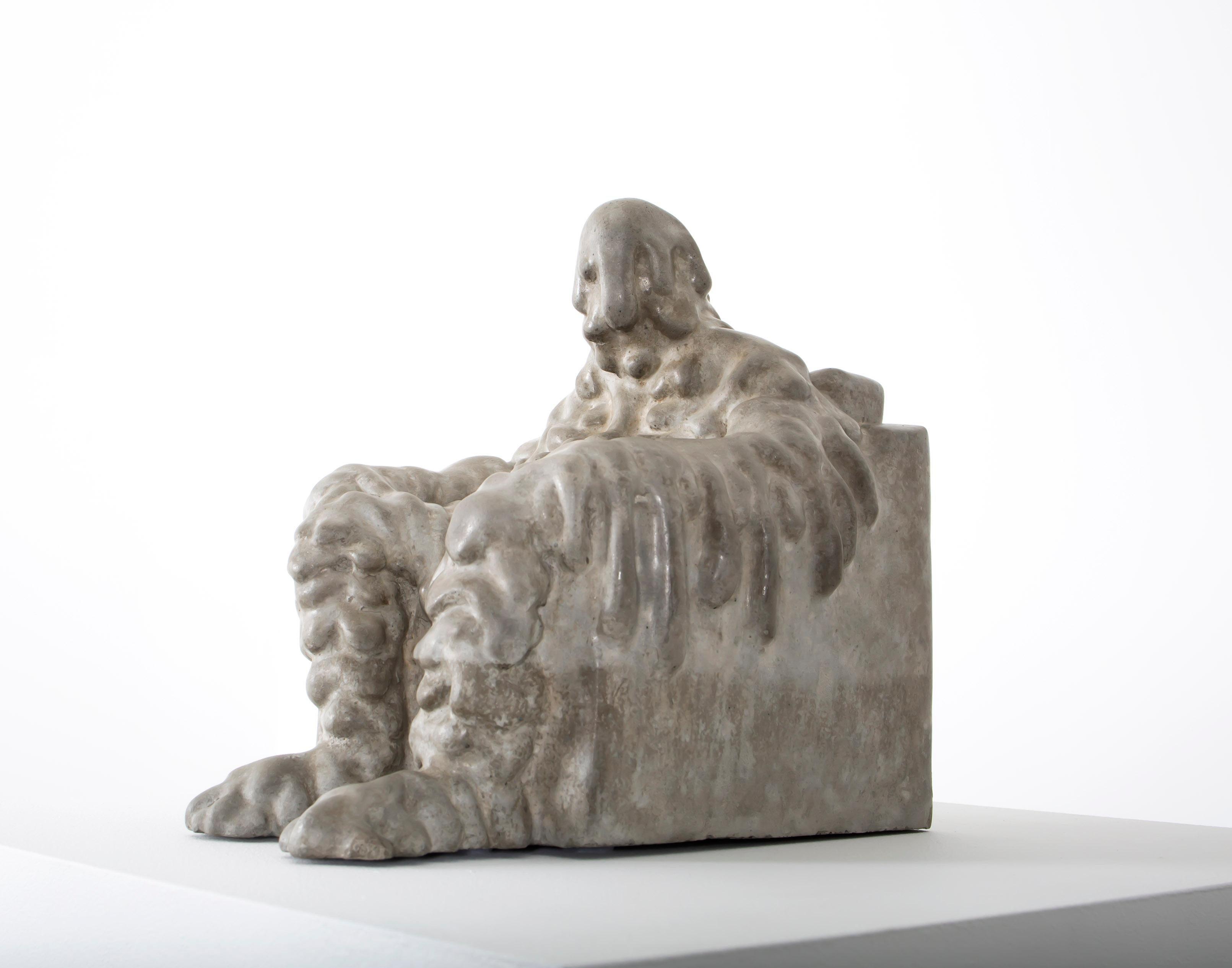 «Melting» Figurative Sculpture by Norwegian artist Jim Darbu