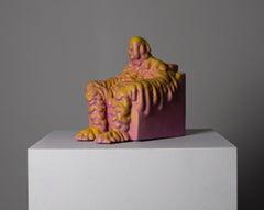 «Resignation» Figurative Sculpture by Norwegian artist Jim Darbu