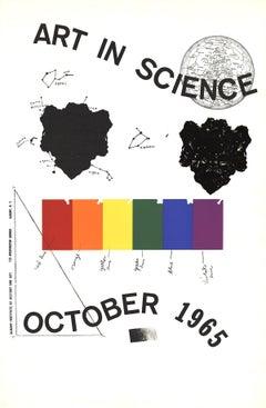 1965 Jim Dine 'Art in Science' Pop Art Multicolor Serigraph