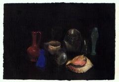 1976 Jim Dine 'Still Life' Pop Art Multicolor,Black Offset Lithograph