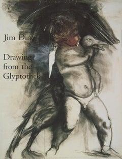 1993 Jim Dine 'Jim Dine Drawing from the Glyptothek' Pop Art Black & White Book