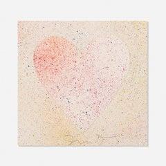 Confetti Heart, Jim Dine