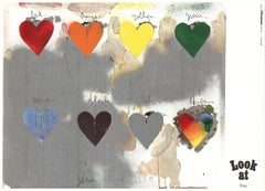 Eight Colorful Hearts