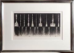 Five Paintbrushes,  Pop Art Etching by Jim Dine