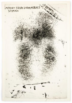 "Imprint from Dorian Gray's Stomach from ""The Picture of Dorian Gray"""
