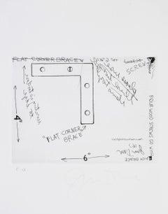 Jim Dine, Corner Brace, International Anthology of Contemporary Engraving, 1964