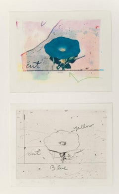Jim Dine 'Morning Glory' signed, limited edition prints (Set of two)