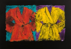 """Jim Dine, """"The Henry Street Robes"""" limited edition xx/50 aquatint"""