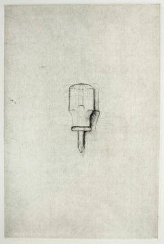 Phillips Screwdriver (Jim Dine 30 Bones of My Body portfolio) tool dry point