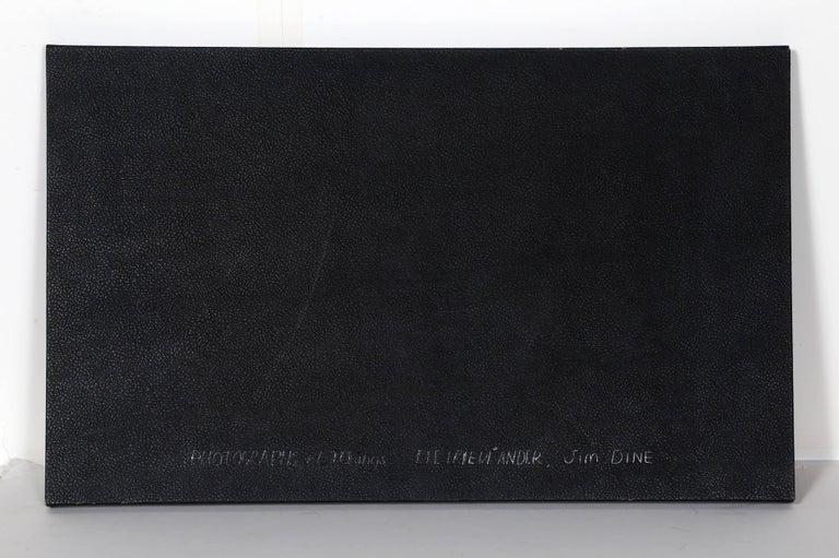Photographs and Etchings, Jim Dine and Lee Friedlander Portfolio 1969 - Gray Print by Jim Dine