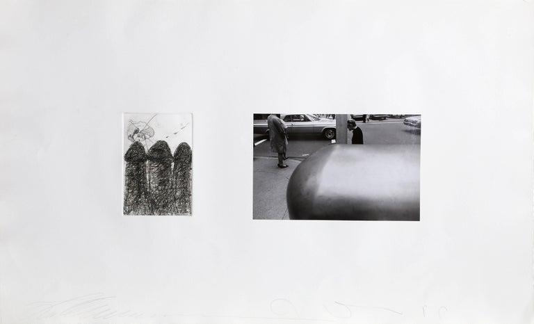 Photographs and Etchings, Jim Dine and Lee Friedlander Portfolio 1969 For Sale 2