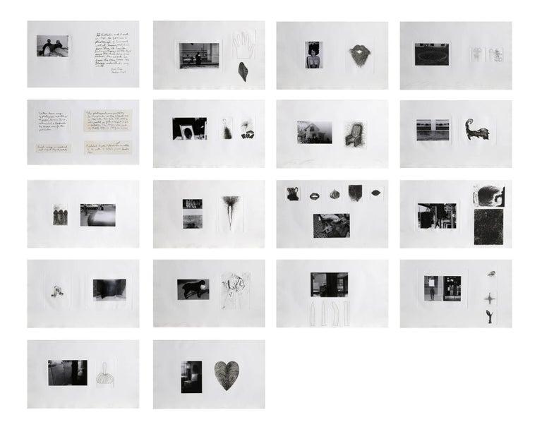 Photographs and Etchings, Jim Dine and Lee Friedlander Portfolio 1969 - Print by Jim Dine