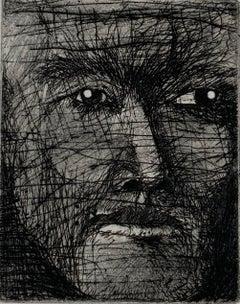 Jim Dine, Rimbaud at Harar in 1883, etching