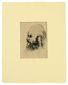 Jim Dine Self Portrait from 'Self Portraits' portfolio