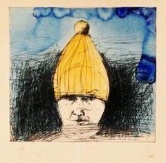 SELF-PORTRAIT IN A SKI HAT