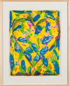 """""""The Blue Heart"""" by Jim Dine, 2005"""