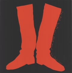 The Red Boots on a Black Ground, 1968
