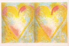 Two Hears for Best Buddies, Jim Dine