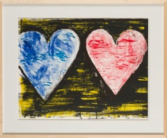 """""""Two Hearts at Sunset"""" by Jim Dine, 2005"""