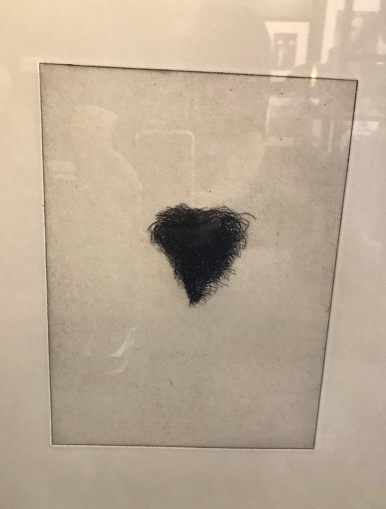 American Jim Dine Signed Set of Four Pop Art Etchings