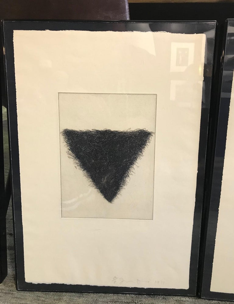 Late 20th Century Jim Dine Signed Set of Four Pop Art Etchings