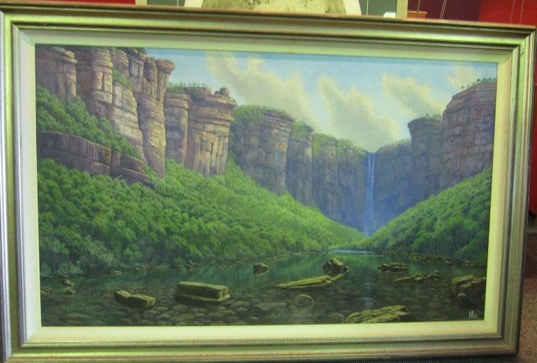 Late 20th Century Jim Jim Falls, Kakadu, Northern Territory, Australia For Sale