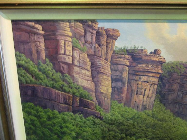 Canvas Jim Jim Falls, Kakadu, Northern Territory, Australia For Sale