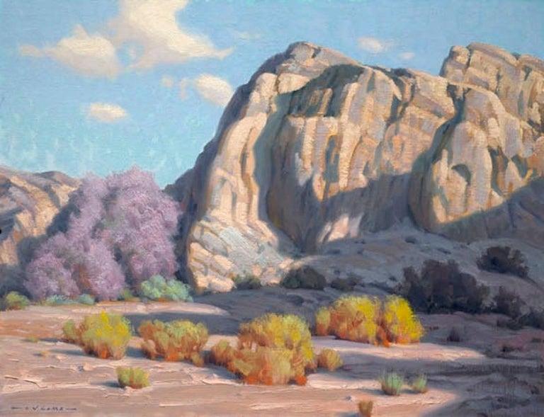 Jim Lamb Landscape Painting - April Morning - Box Canyon