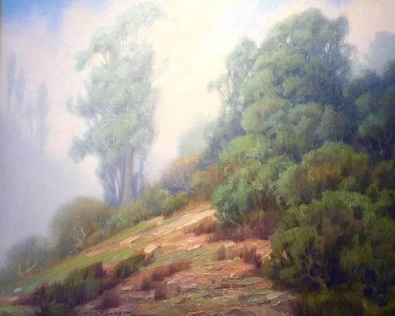Jim Lamb Landscape Painting - Laguna Fog