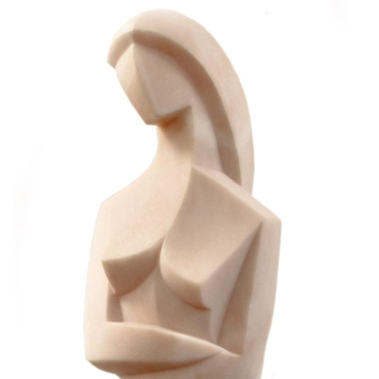 Virginie - Cubist Sculpture by Jim Ritchie