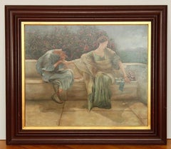 Marvelous Large Original Painting by Jim Robinson