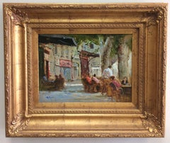 Afternoon in Aix, original French impressionist landscape