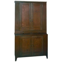 Jim Rose Legacy Collection - Four Door Two-Drawer Shaker Inspired Steel Cupboard