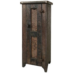 Jim Rose Legacy Collection - One Door Shaker Inspired Steel Cupboard-Maquette