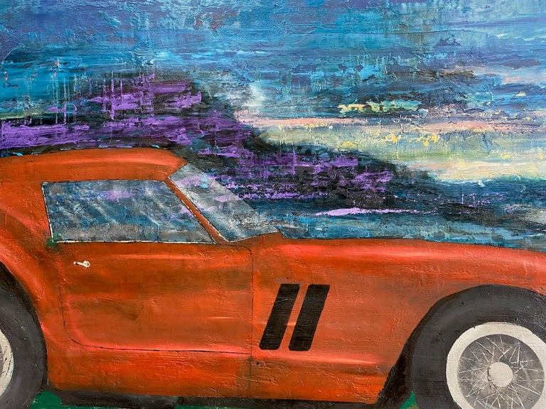 The Gran Turismo Omologato (GTO) 250 Ferrari is not only suave, sophisticated and gritty, it is the most valuable road and track car ever built! Suitable for a contemporary pop art landscape, it sold for $70 million, making it the most expensive car