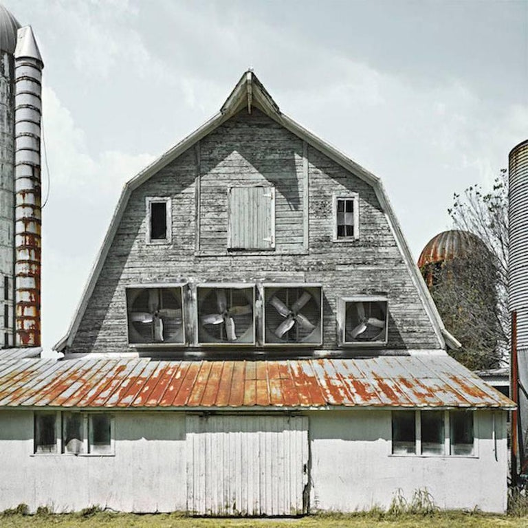 Blue Slate Farm, Archival Pigment Print, Framed Limited Edition