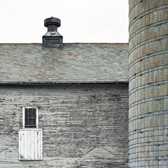 Choquette Barn 1, Archival Pigment Print, Framed Limited Edition
