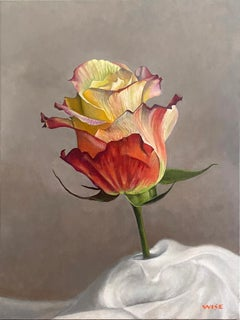 """""""Pilgrimage"""" - floral painting, still life, realism - Georgia O'Keeffe"""