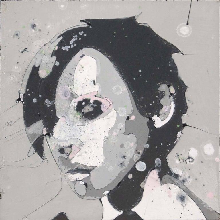 Faces 3 - Original Portrait Art Abstract Portrait Art Urban Expressionist Art