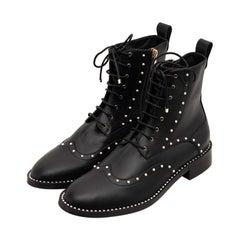 Jimmy Choo Black Boots Size 41.5 FR