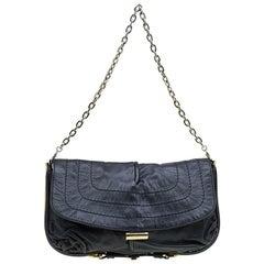 Jimmy Choo Black Leather Ayse Shoulder Bag