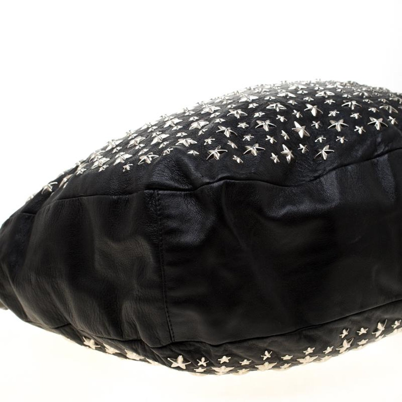 346aa3f7f6 Jimmy Choo Black Leather Star Sky Hobo For Sale at 1stdibs