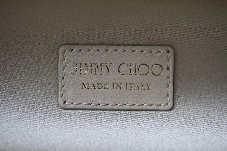 Jimmy Choo Celeste crystal embellished Cosma Clutch For Sale 3