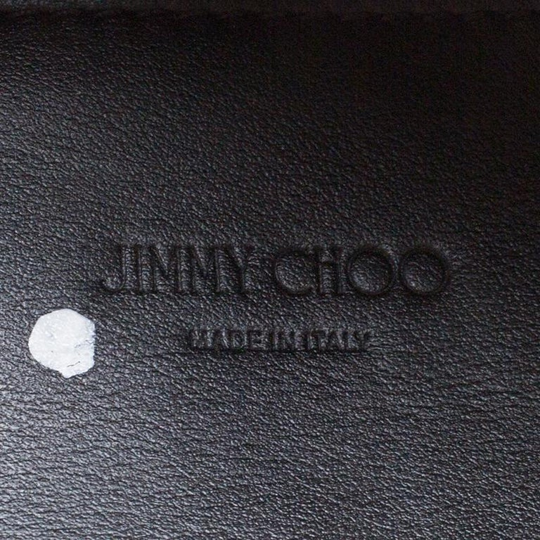 Jimmy Choo Cognac/Black Suede and Leather Satchel For Sale 5