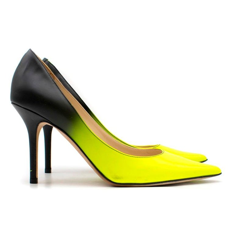 discount shop reputable site first rate Jimmy Choo Fluorescent Ombre Pumps US 7